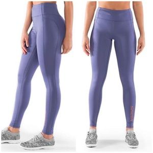 Virus lavender high rise workout leggings sz S